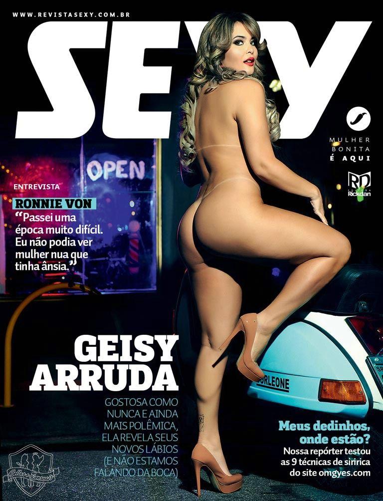 Geisy Arruda Nua Revista Sexy Abril 2016
