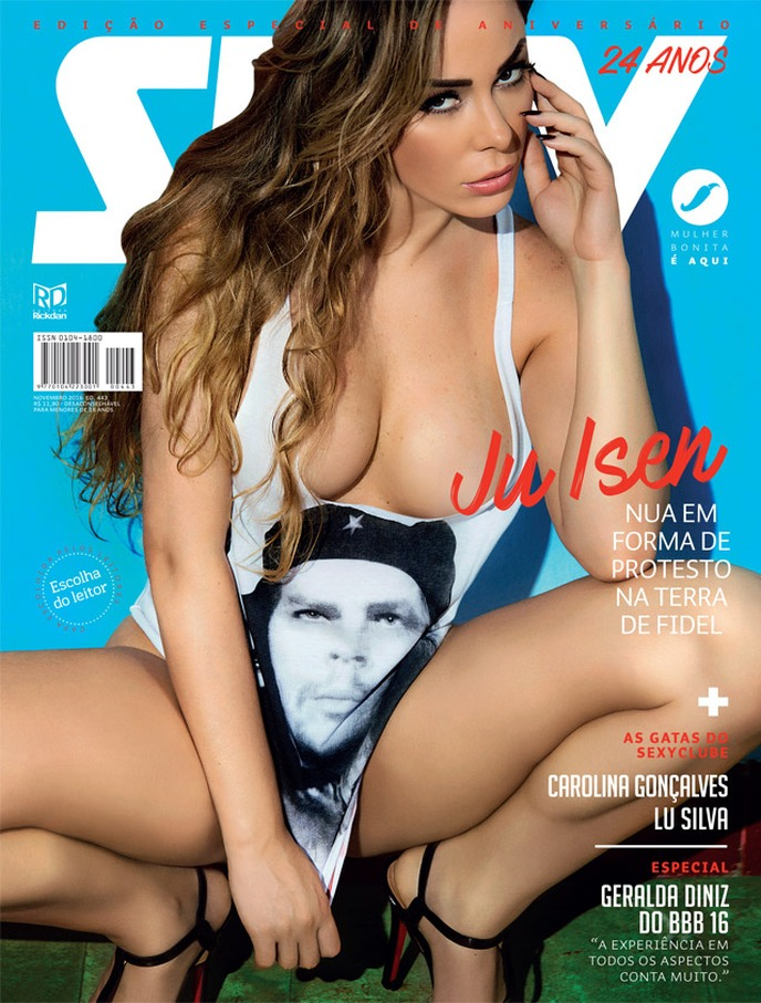 Revista Sexy: Juliana Isen – Novembro 2016