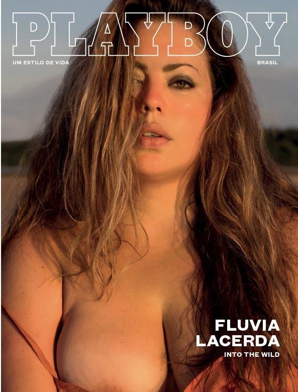 Revista Playboy: Flúvia Lacerda